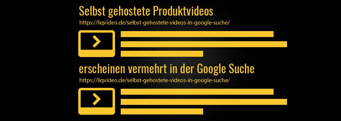 Selbst gehostete Produktvideos erscheinen vermehrt in der Google Suche